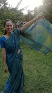 Mein erster Sari, ist aber schon etwas her...