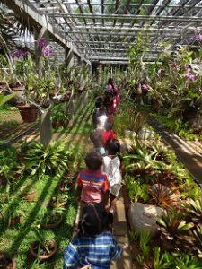 Ausflug zum Botanischen Garten